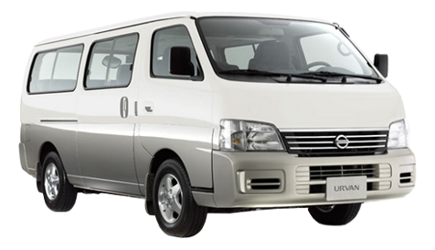 Nissan Urvan Estate White