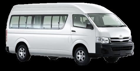 Toyota HiAce White